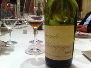 Cognac_Grande_Champagne 1865 de la réserve privée famille Halley