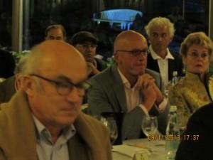 Alain Vauthier propriétaire du Château Ausone, Egon Müller et Roberto Voerzio - Villa d'Este Wine Symposium