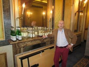 Alexandre Wagner dégustation verticale Egon Müller, Domaine Kracher, Château Yquem,