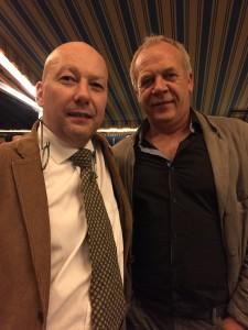 Alexandre Wagner et Stéphane Derenencourt lors du Villa d'Este Wine Symposium 2014