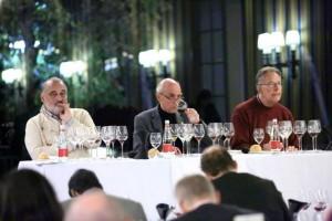 François mauss, Mr Aubert de Villaine et Mr Bernard Noblet du Domaine de la Romanée Conti-Villa d'Este Wine Symposium