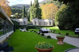 La Villa d'Este et un des sponsors du Villa d'Este Wine Symposium : Maseratti