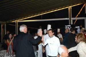 Parade des Chefs -Dîner de Gala Villa d'Este Wine Symposium