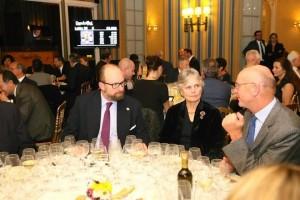 Le Prnce Robert de Luxembourg au Dîner de Gala -Villa d'Este Wine Symposium 2014